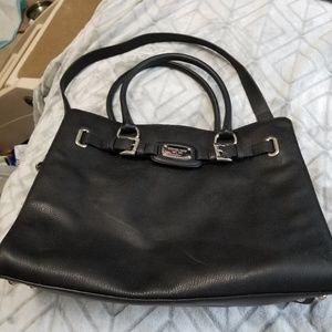 f22cacaf919f Michael Kors Bags - Michael Kors Hamilton Est. 1981 Black Shoulder Bag